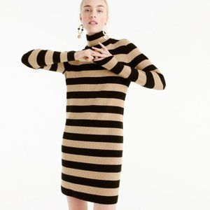 NEW! J.Crew Stripe Turtleneck Sweater Dress (XXL)